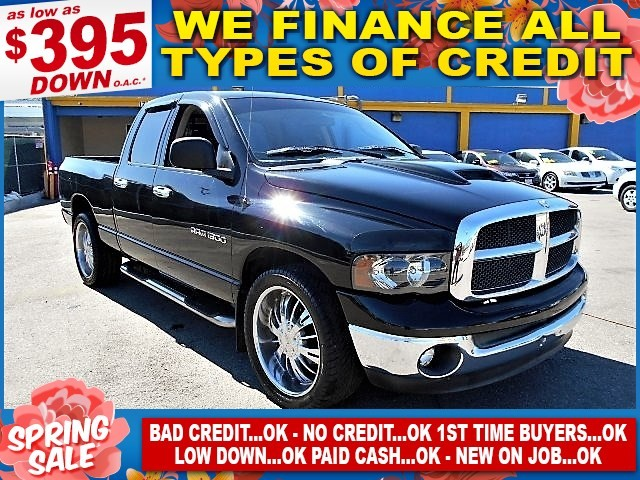 2003 Dodge Ram 1500 ST Limited warranty included to assure your worry-free purchase AutoCheck rep
