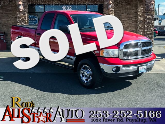 2003 Dodge Ram 2500 4WD Laramie The CARFAX Buy Back Guarantee that comes with this vehicle means t
