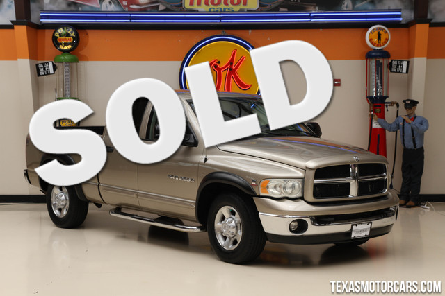 2003 Dodge Ram 2500 SLT Financing is available with rates as low as 29 wac Get pre-approved i