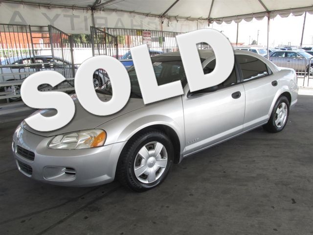 2003 Dodge Stratus SE Please call or e-mail to check availability All of our vehicles are avail