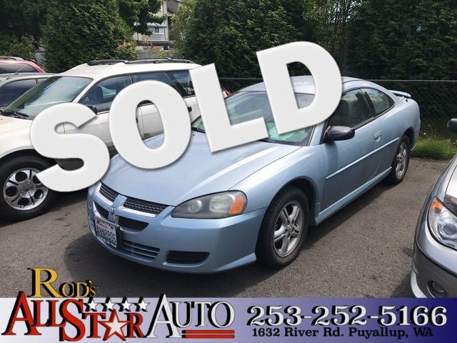 2003 Dodge Stratus SE The CARFAX Buy Back Guarantee that comes with this vehicle means that you ca