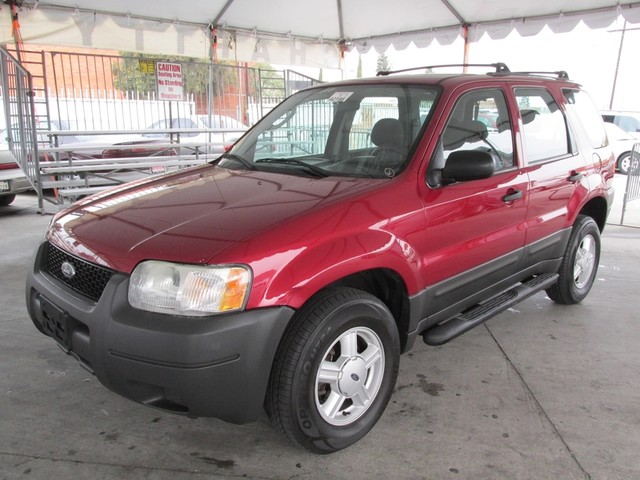 2003 Ford Escape XLS Popular Please call or e-mail to check availability All of our vehicles are