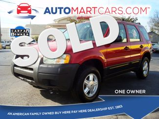 2003 Ford Escape XLS Popular | Nashville, Tennessee | Auto Mart Used Cars Inc. in Nashville Tennessee