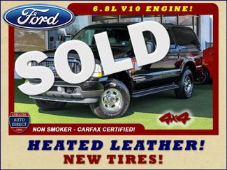 2003 Ford Excursion Limited 4X4 - HEATED LEATHER - V10! Mooresville , NC