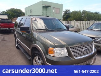 2003 Ford Expedition Eddie Bauer Lake Worth , Florida 1