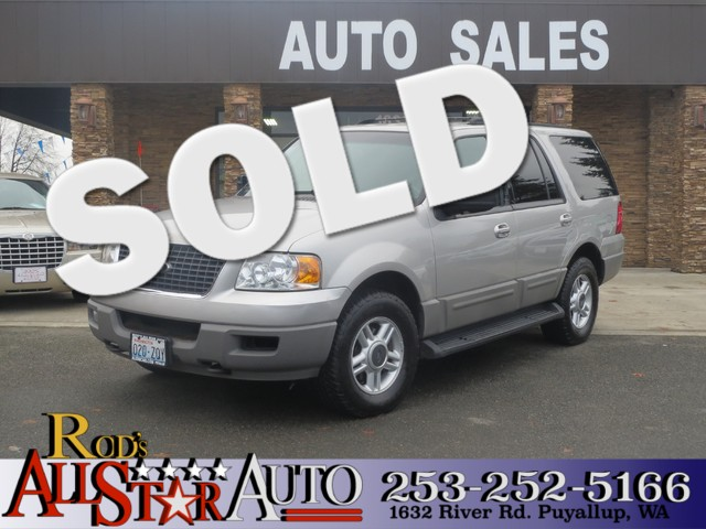 2003 Ford Expedition Special Service 4WD The CARFAX Buy Back Guarantee that comes with this vehicl