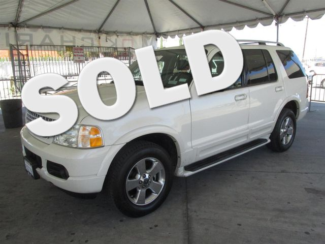 2003 Ford Explorer Limited This particular Vehicle comes with 3rd Row Seat Please call or e-mail
