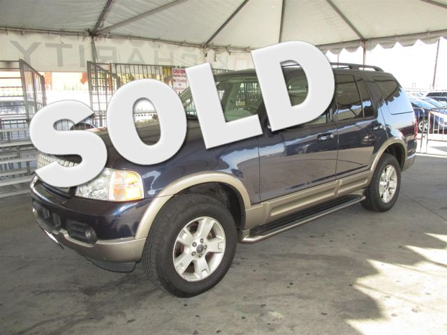 2003 Ford Explorer Eddie Bauer This particular Vehicles true mileage is unknown TMU Please cal
