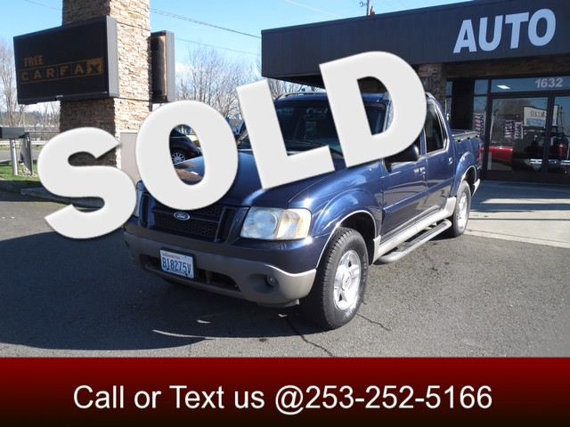 2003 Ford Explorer Sport Trac XLT 4WD The CARFAX Buy Back Guarantee that comes with this vehicle m