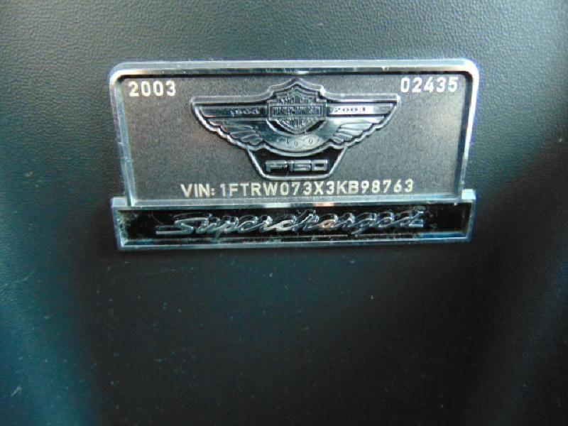 2003 Ford F-150 Harley-Davidson  in Austin, TX