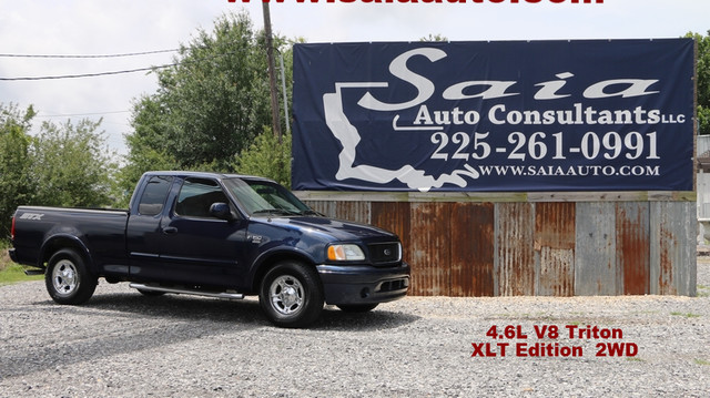 2003 Ford F150 Xlt Supercab 4.6 V8 STX App Pkg Pwr Pkg Alloy Wheels Only 99K Miles ONE OWNER CLEAN CARFAX   Baton Rouge , Louisiana   Saia Auto Consultants LLC in Baton Rouge  Louisiana
