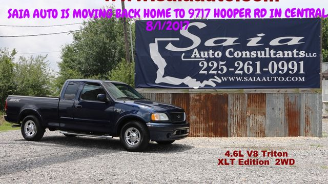 2003 Ford F150 Xlt Supercab 4.6 V8 STX App Pkg Pwr Pkg Alloy Wheels Only 99K Miles ONE OWNER CLEAN CARFAX | Baton Rouge , Louisiana | Saia Auto Consultants LLC in Baton Rouge  Louisiana