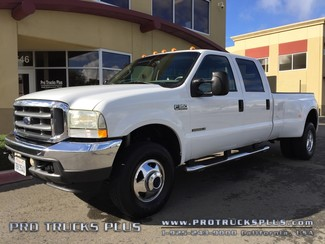 F350 Crew Cab 4x4 7.3 Powerstroke Diesel Ford 2003 Lariat Dually 1-Owner Ca.@ 100k   in Livermore California
