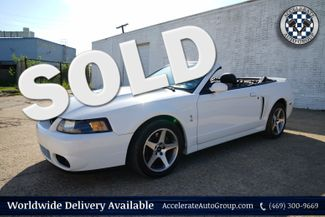 2003 Ford Mustang SVT Cobra Conv - LOW MILES, NICE! in Garland