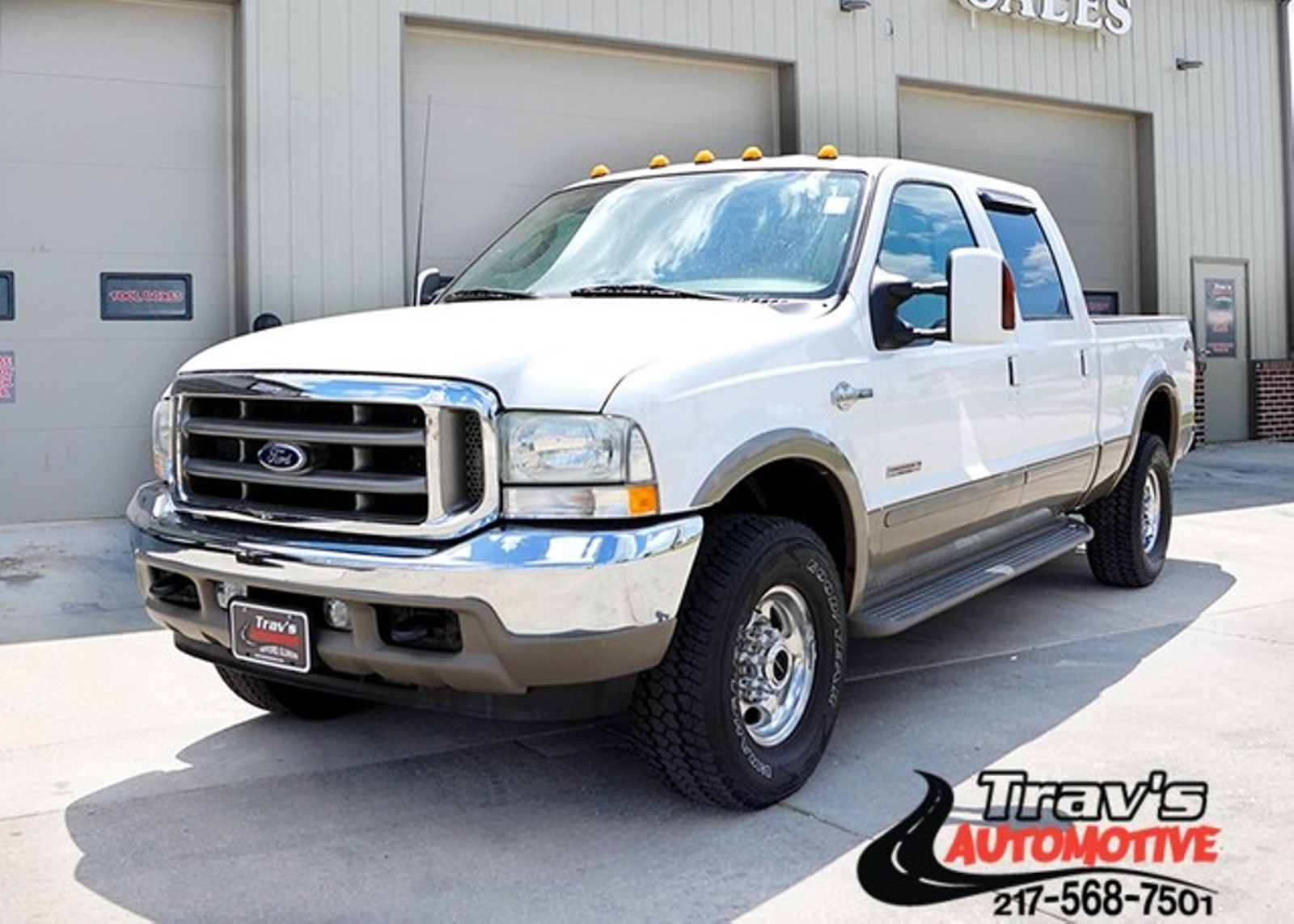 2003 ford super duty f 250 king ranch city il travs automotive. Black Bedroom Furniture Sets. Home Design Ideas