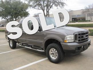 2003 Ford  F-250 Crew Cab 7.3 Turbo Diesel FX4, 1 Owner, Lo Miles Plano, Texas
