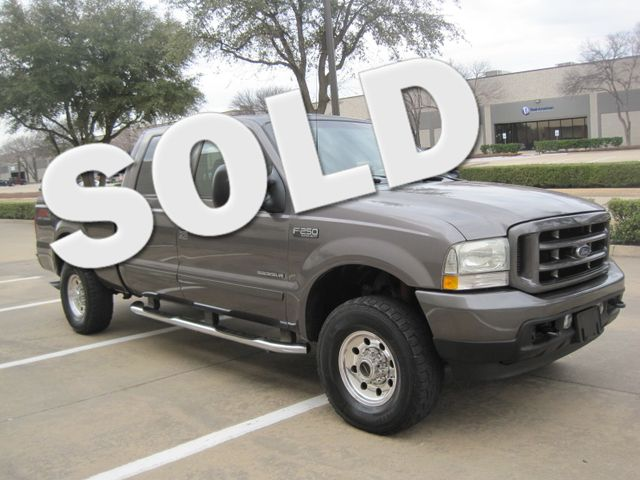 2003 Ford  F-250 Crew Cab 7.3 Turbo Diesel FX4, 1 Owner, Lo Miles Plano, Texas 0