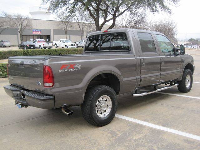 2003 Ford  F-250 Crew Cab 7.3 Turbo Diesel FX4, 1 Owner, Lo Miles Plano, Texas 11