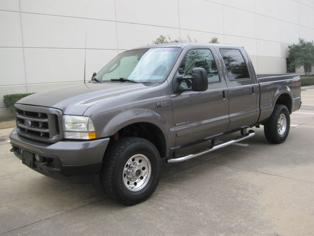 2003 Ford  F-250 Crew Cab 7.3 Turbo Diesel FX4, 1 Owner, Lo Miles Plano, Texas 4