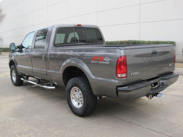 2003 Ford  F-250 Crew Cab 7.3 Turbo Diesel FX4, 1 Owner, Lo Miles Plano, Texas 7