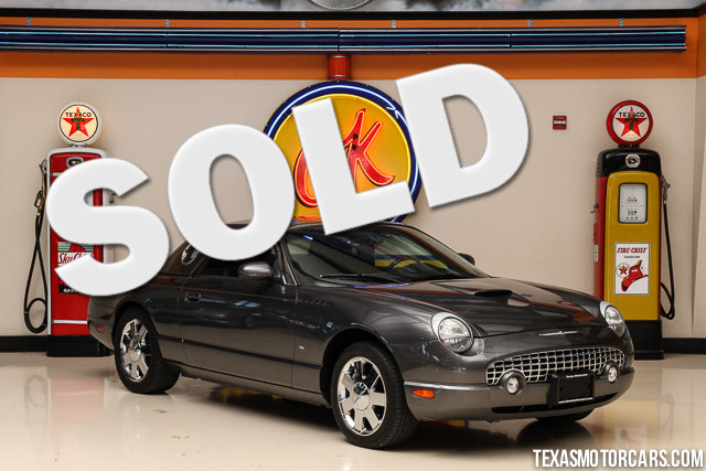 2003 Ford Thunderbird Premium This Clean Carfax 2003 Ford Thunderbird Premium is in excellent cond