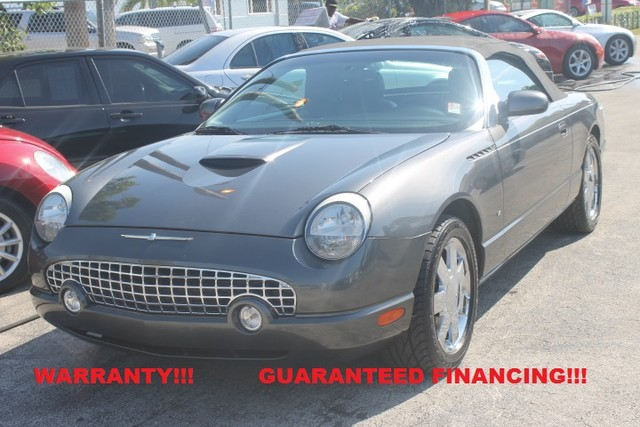 2003 Ford Thunderbird Premium  WARRANTY CARFAX CERTIFIED AUTOCHECK CERTIFIED 2 OWNERS 23 SE