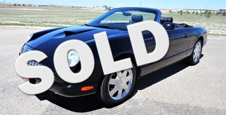 2003 Ford Thunderbird in Lubbock Texas