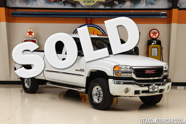 2003 GMC Sierra 2500HD SLE 4x4 This Carfax 1-Owner accident-free 2003 GMC Sierra 2500HD SLE is in