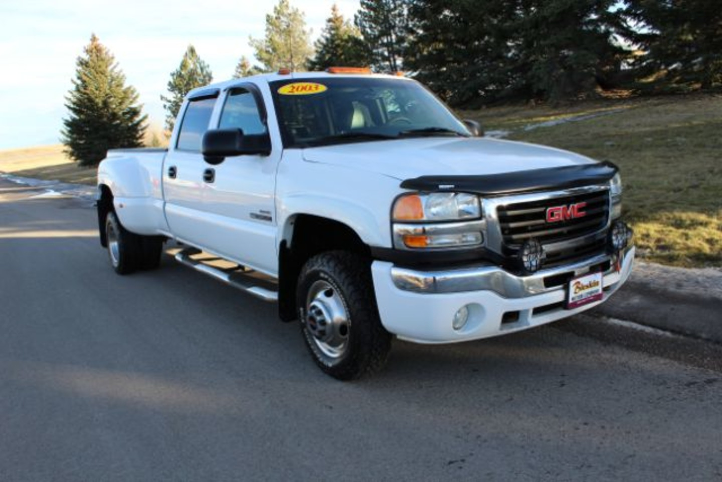 2003 gmc sierra 3500 crew cab 4wd city mt bleskin motor for City motor company great falls
