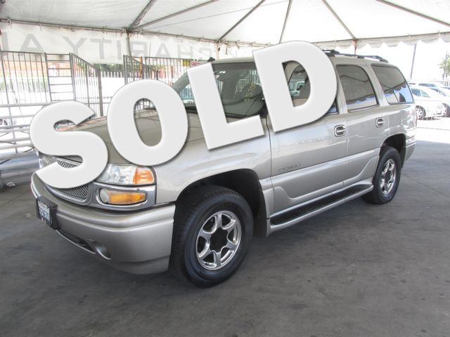 2003 GMC Yukon Denali This particular Vehicle comes with 3rd Row Seat Please call or e-mail to ch
