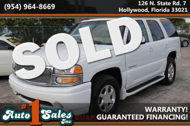 2003 GMC Yukon Denali  WARRANTY 1 OWNER  11 SERVICE RECORDS FLORIDA VEHICLE TRADES WELCOME