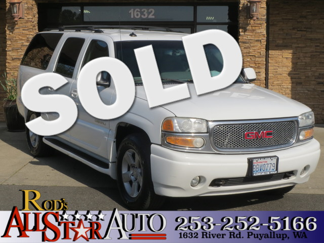 2003 GMC Yukon XL Denali AWD The CARFAX Buy Back Guarantee that comes with this vehicle means that