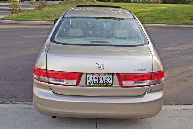 2003 Honda ACCORD EX SEDAN ONLY 68K MLS SERVICE RECORDS ALLOY WHLS XLNT CONDITION Woodland Hills, CA 5