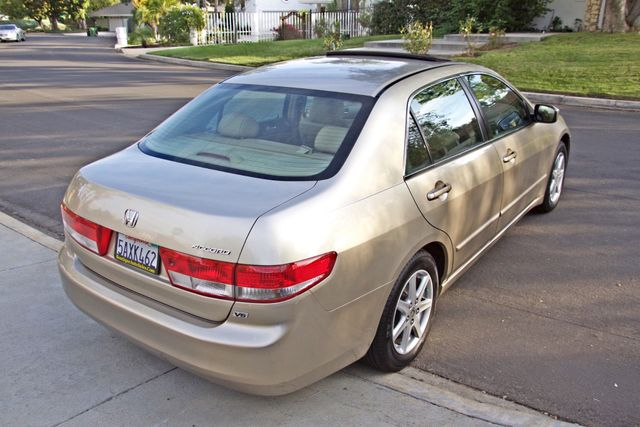 2003 Honda ACCORD EX SEDAN ONLY 68K MLS SERVICE RECORDS ALLOY WHLS XLNT CONDITION Woodland Hills, CA 6