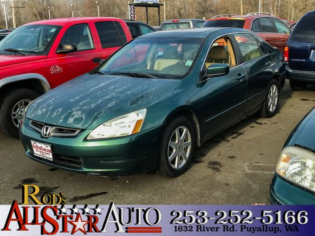 2003 Honda Accord EX The CARFAX Buy Back Guarantee that comes with this vehicle means that you can