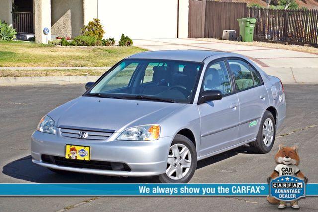 2003 Honda CIVIC GX NATURAL GAS SEDAN AUTOMATIC A/C SERVICE RECORDS! Woodland Hills, CA 0