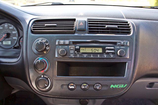 2003 Honda CIVIC GX NATURAL GAS SEDAN AUTOMATIC A/C SERVICE RECORDS! Woodland Hills, CA 16