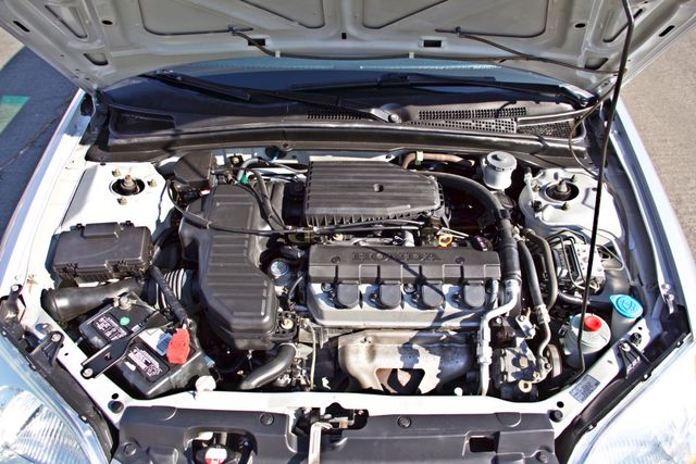 2003 Honda CIVIC GX NATURAL GAS SEDAN AUTOMATIC A/C SERVICE RECORDS! Woodland Hills, CA 27