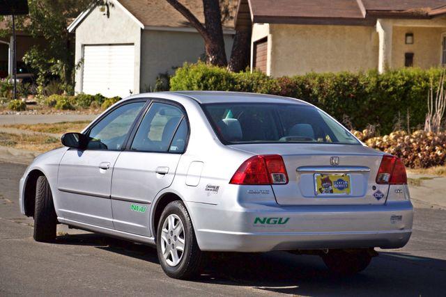 2003 Honda CIVIC GX NATURAL GAS SEDAN AUTOMATIC A/C SERVICE RECORDS! Woodland Hills, CA 3