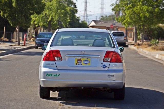 2003 Honda CIVIC GX NATURAL GAS SEDAN AUTOMATIC A/C SERVICE RECORDS! Woodland Hills, CA 4