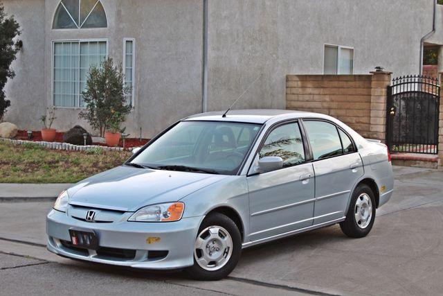 2003 Honda CIVIC HYBRID SEDAN 1-OWNER SERVICE RECORDS MANUAL Woodland Hills, CA 8