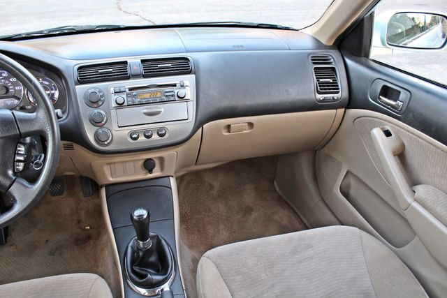 2003 Honda CIVIC HYBRID SEDAN 1-OWNER SERVICE RECORDS MANUAL Woodland Hills, CA 14