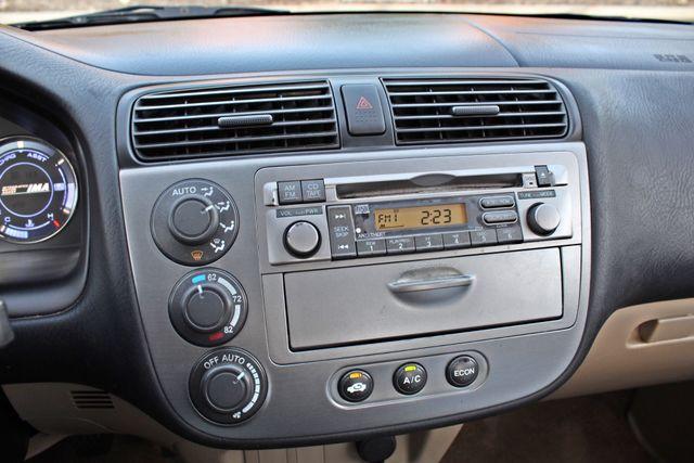 2003 Honda CIVIC HYBRID SEDAN 1-OWNER SERVICE RECORDS MANUAL Woodland Hills, CA 11