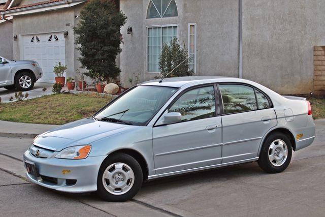 2003 Honda CIVIC HYBRID SEDAN 1-OWNER SERVICE RECORDS MANUAL Woodland Hills, CA 1