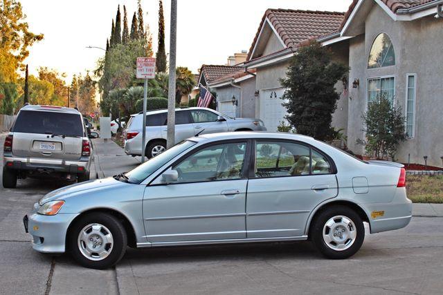 2003 Honda CIVIC HYBRID SEDAN 1-OWNER SERVICE RECORDS MANUAL Woodland Hills, CA 2