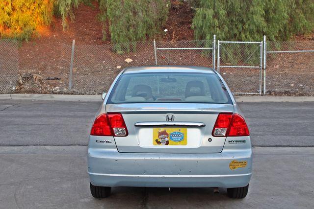 2003 Honda CIVIC HYBRID SEDAN 1-OWNER SERVICE RECORDS MANUAL Woodland Hills, CA 4