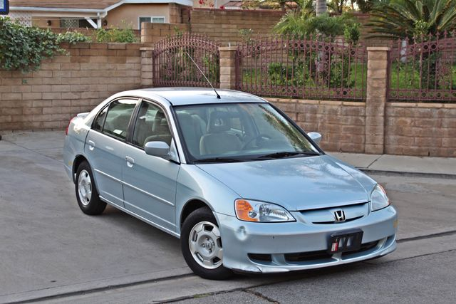 2003 Honda CIVIC HYBRID SEDAN 1-OWNER SERVICE RECORDS MANUAL Woodland Hills, CA 6