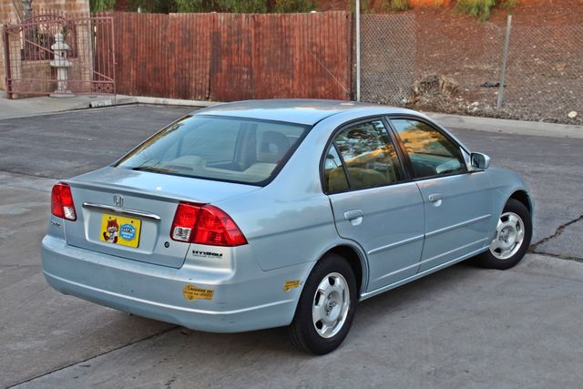 2003 Honda CIVIC HYBRID SEDAN 1-OWNER SERVICE RECORDS MANUAL Woodland Hills, CA 5