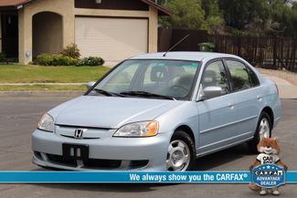 2003 Honda CIVIC HYBRID SEDAN AUTOMATIC  1-OWNER SERVICE RECORDS NEW TIRES Woodland Hills, CA