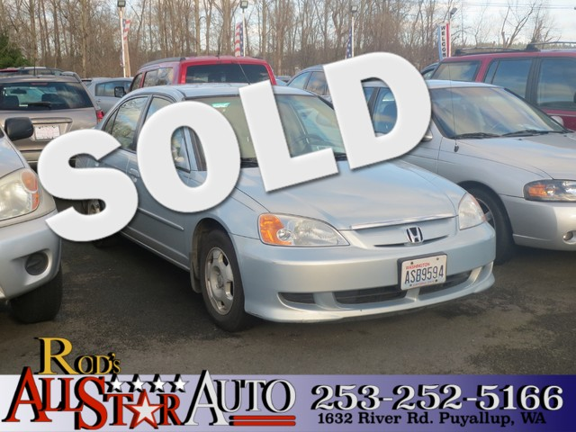 2003 Honda Civic Hybrid The CARFAX Buy Back Guarantee that comes with this vehicle means that you
